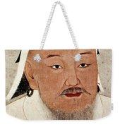 Genghis Khan (1162-1227) Weekender Tote Bag