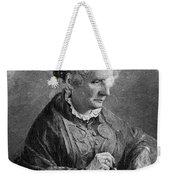 Harriet Beecher Stowe Weekender Tote Bag