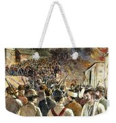 Homestead Strike, 1892 Weekender Tote Bag by Granger
