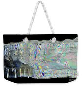Icicle Cross Section Weekender Tote Bag