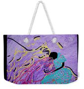 Jesus And Mary Weekender Tote Bag by Gloria Ssali
