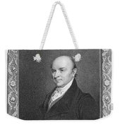 John Quincy Adams Weekender Tote Bag