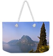 Lago Di Lugano Weekender Tote Bag
