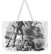 Last Of The Mohicans, 1872 Weekender Tote Bag