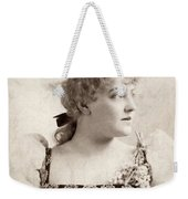 Lillian Russell (1861-1922) Weekender Tote Bag