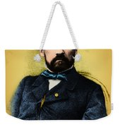 Louis Pasteur, French Chemist Weekender Tote Bag by Science Source