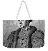 Louis Xi (1423-1483) Weekender Tote Bag