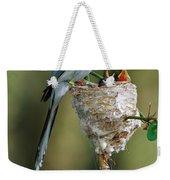 Madagascar Paradise Flycatcher Weekender Tote Bag