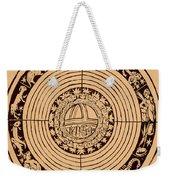 Medieval Zodiac Weekender Tote Bag
