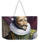Miguel De Cervantes Weekender Tote Bag