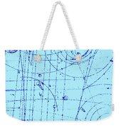 Omega-minus Particle, First Observation Weekender Tote Bag