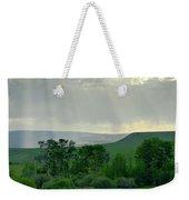 Rain Sun Rays Weekender Tote Bag