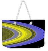 Saturns Rings Weekender Tote Bag