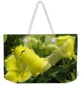 Snapdragon From The Mme Butterfly Mix Weekender Tote Bag