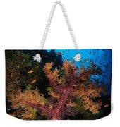 Soft Coral Seascape, Fiji Weekender Tote Bag