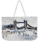 Southbank London Art Weekender Tote Bag