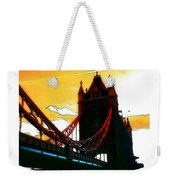Sunset At Tower Brigde Weekender Tote Bag
