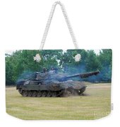 The Leopard 1a5 Main Battle Tank Weekender Tote Bag by Luc De Jaeger