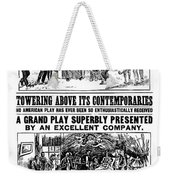 Uncle Toms Cabin Weekender Tote Bag