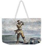 Verne: 20,000 Leagues, 1870 Weekender Tote Bag by Granger