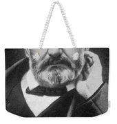Victor Hugo, French Author Weekender Tote Bag by Photo Researchers