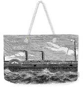 4 Wheel Steamship, 1867 Weekender Tote Bag