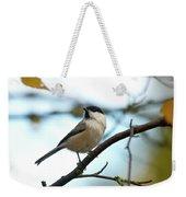 Willow Tit Weekender Tote Bag