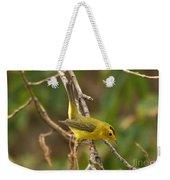 Wilson's Warbler Weekender Tote Bag