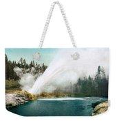 Yellowstone Park: Geyser Weekender Tote Bag