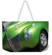 40 Ford - Front Driver Angle-8665 Weekender Tote Bag