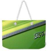 40 Ford - Logo-8589 Weekender Tote Bag