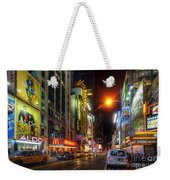42nd Street Nyc 3.0 Weekender Tote Bag