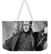 Andrew Jackson (1767-1845) Weekender Tote Bag