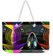 440 Cuda Billboard Pop Weekender Tote Bag