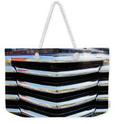 48 Chevy Convertible Grill Weekender Tote Bag