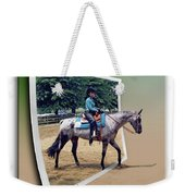 4h Horse Competition Weekender Tote Bag