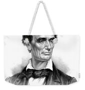 Abraham Lincoln, 16th American President Weekender Tote Bag by Photo Researchers