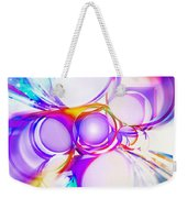 Abstract Of Circle  Weekender Tote Bag