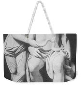 Aesculapius, Greek God Of Medicine Weekender Tote Bag