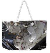 Astronaut Working On The International Weekender Tote Bag