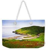 Atlantic Coast In Newfoundland Weekender Tote Bag
