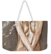 Beautiful Soiled Naked Woman's Body Weekender Tote Bag
