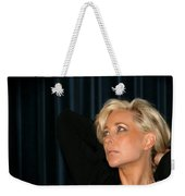 Blond Woman Weekender Tote Bag by Henrik Lehnerer