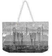 Brooklyn Bridge, 1870 Weekender Tote Bag