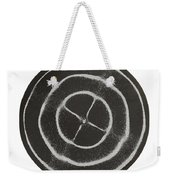 Chladni Oscillations On Metal Plate Weekender Tote Bag