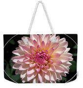 Dahlia Named Valley Porcupine Weekender Tote Bag