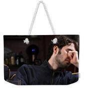 Depression And Addiction Weekender Tote Bag by Photo Researchers, Inc.