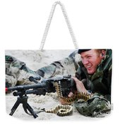 Dutch Royal Marines Taking Part Weekender Tote Bag by Luc De Jaeger