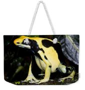 Dyeing Poison Frog Weekender Tote Bag