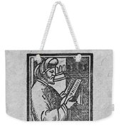 Euclid, Ancient Greek Mathematician Weekender Tote Bag